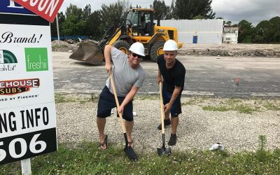 In the works! Baron Shoppes Breaks Ground